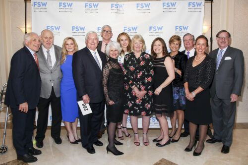 Family Services of Westchester 2018-2019 Board of Directors at Star Gala 2019 fundraiser