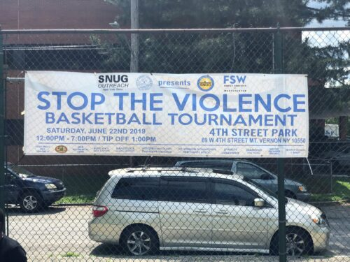 banner for SNUG Stop the Violence Basketball Tournament