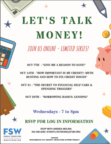 Veterans Money Webinar